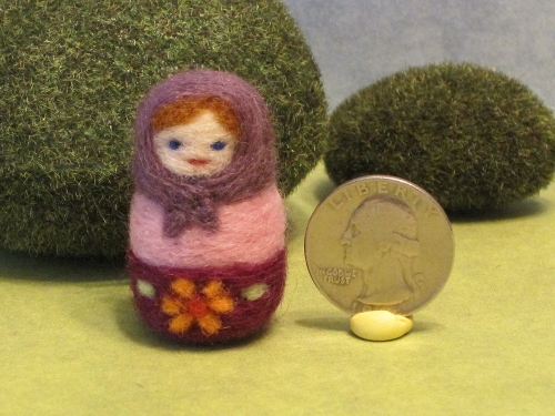 Tiny Matryoshka Doll